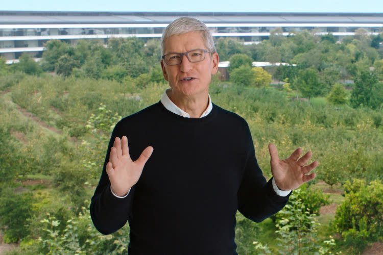 Message sent by Tim Cook to his teams for Apple's 45th anniversary