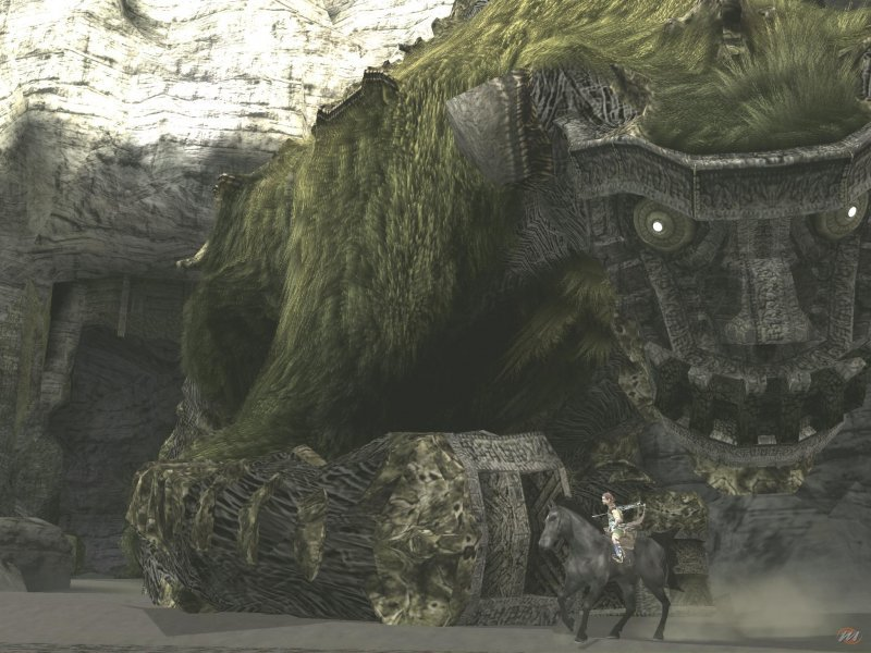 Shadow of the Colossus, one of the masterpieces of Sony Japan Studios.
