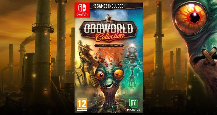 Otworld collection for Nintendo Switch, release date - Nert 4.Life