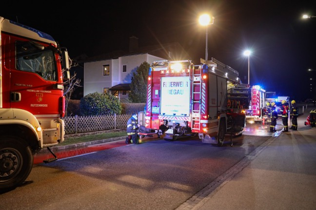 A room fire in a residential building in Rega causes the use of two fire departments