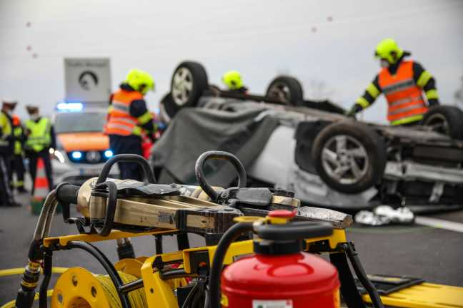 Dangerous traffic accident: The driver died when the vehicle overturned on the Wells motorway in March March