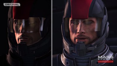Mass Effect Legendary Edition: A remarkable comparison of images and 4K video with the original, especially Mass Effect
