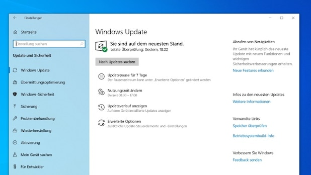Windows updates are important for the security of the operating system.