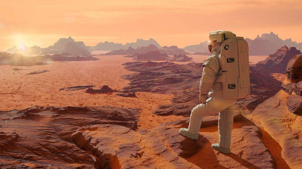 astronauti su marte