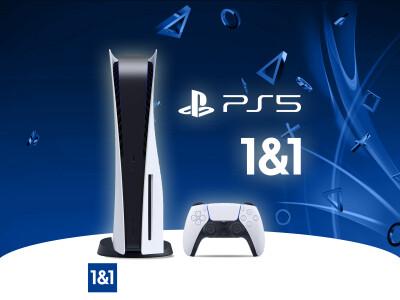 Buy the PlayStation 5 at 1 & 1