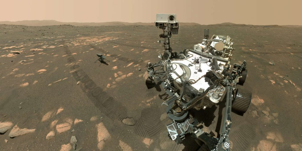The diligent rover generated oxygen on Mars