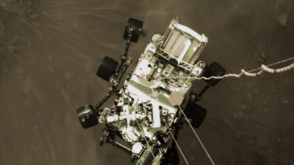 The diligent rover produced oxygen on the red planet