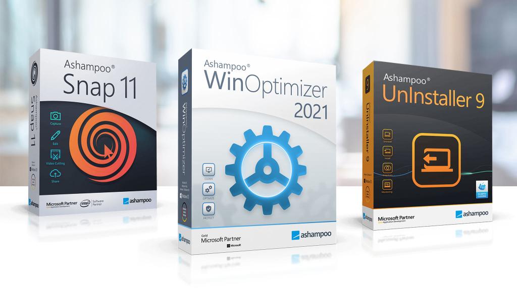 Free Download: Three Ashampoo Full Versions