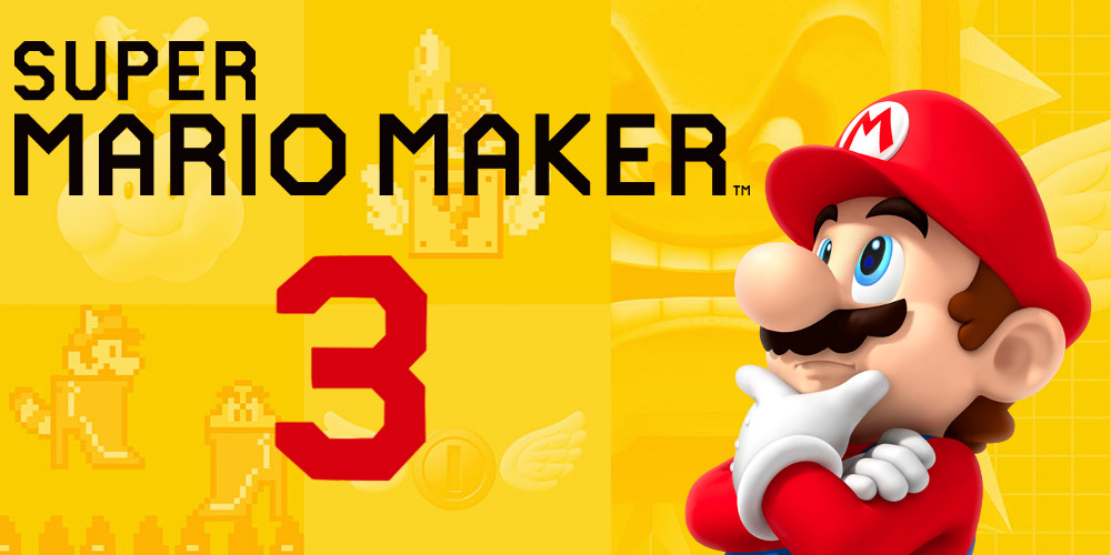 Super Mario Maker 3 (D) - Third Dimension Construction - ntower