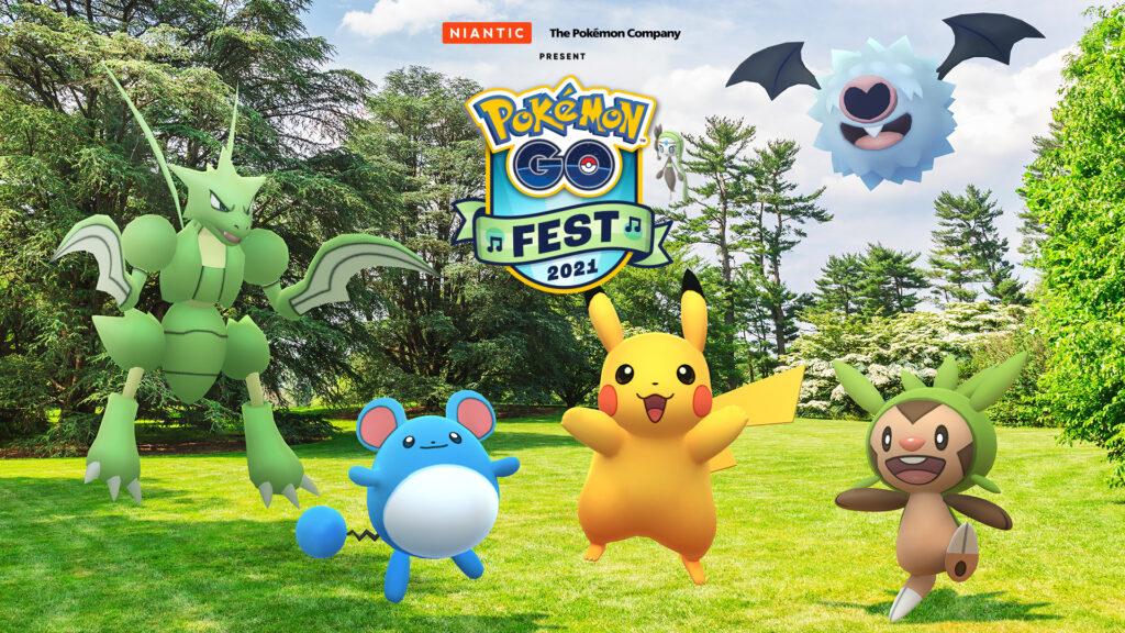 Melota announced the Pokemon GO Festival 2021 • Nintendo merger