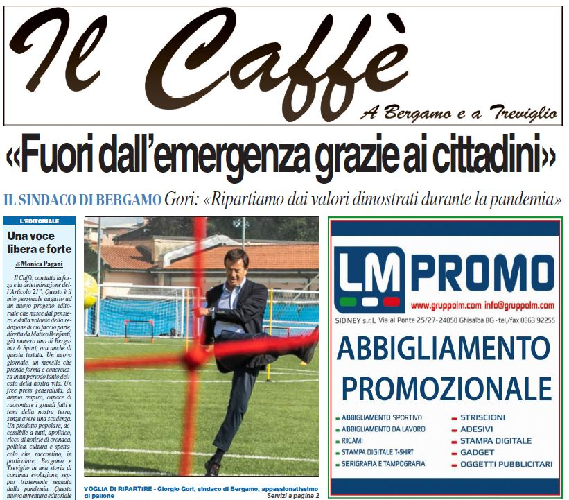 Free, strong voice coffee for everyone. Download your free copy here «Bergamo e Sport