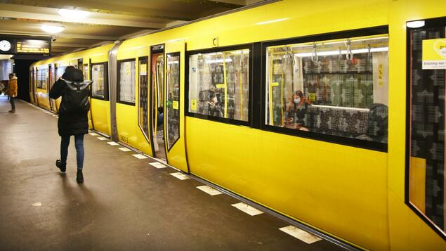 Almost everything in the green area: PVG shows the use of its lines - Berlin