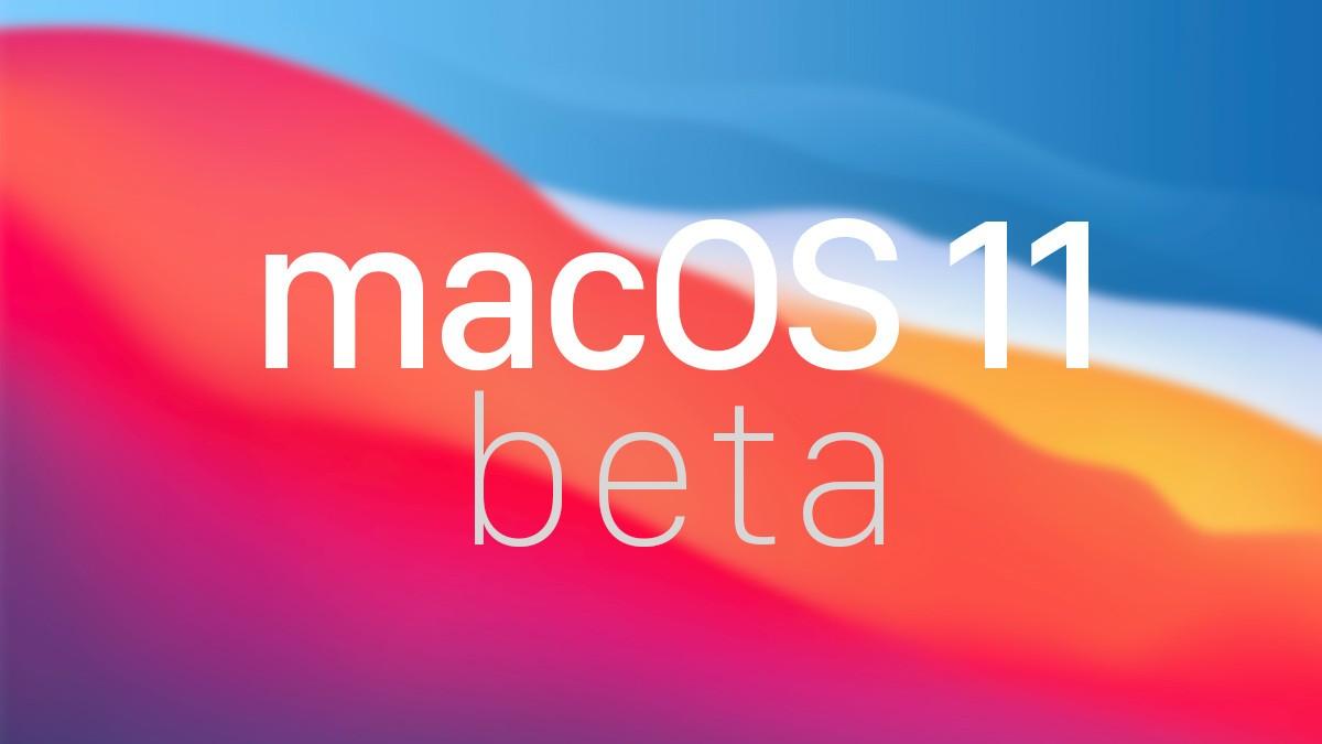 macos11 Title Beta Isoft