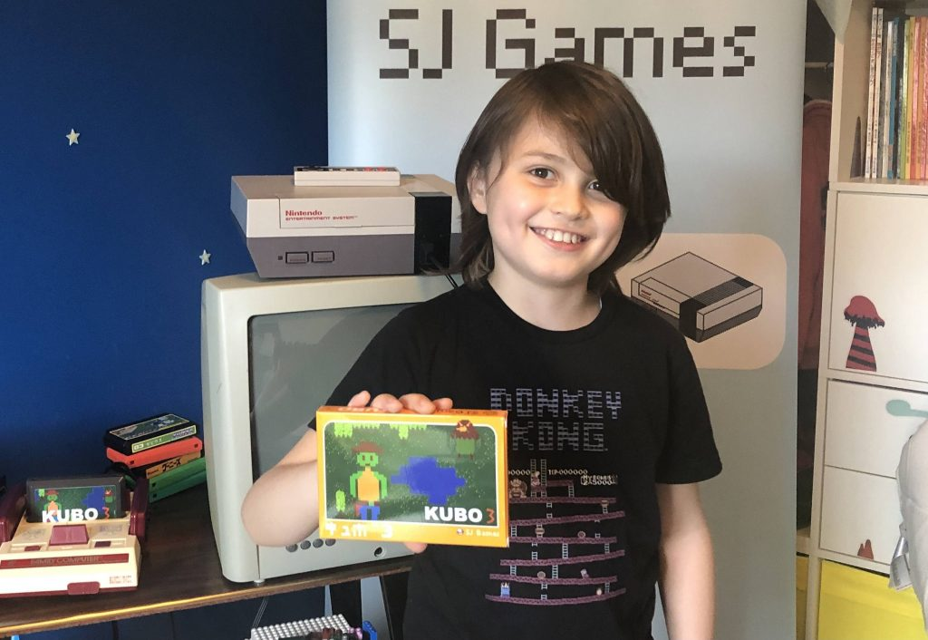 At the age of 8, he developed video games for Nintendo's famous Nintendo console.