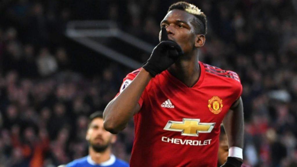 Paul Pogba, centrocampista del Manchester United