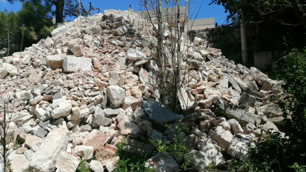Fasano dumping waste in the forest: Report