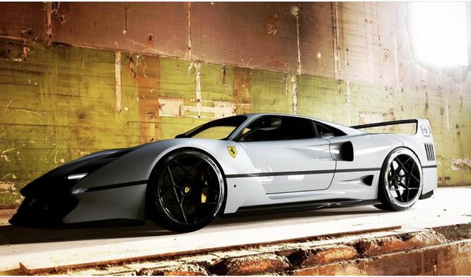 Ferrari F40, un salto nel futuro