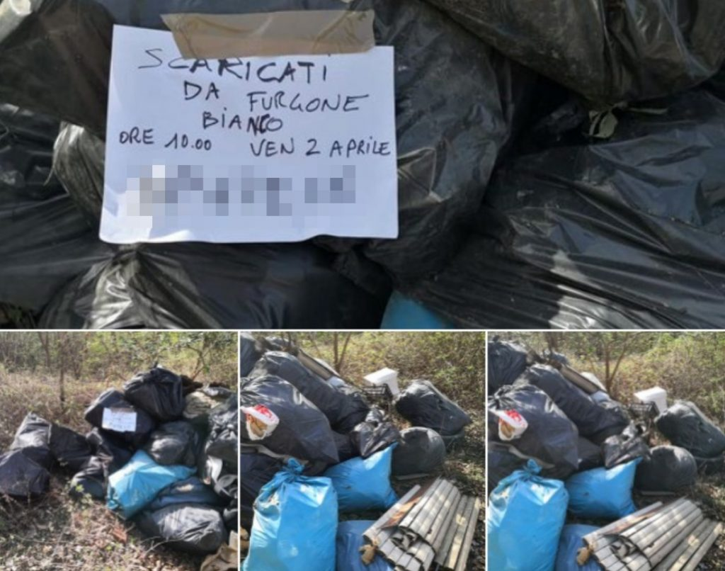 He dumps waste in open countryside, is caught by citizens and fined