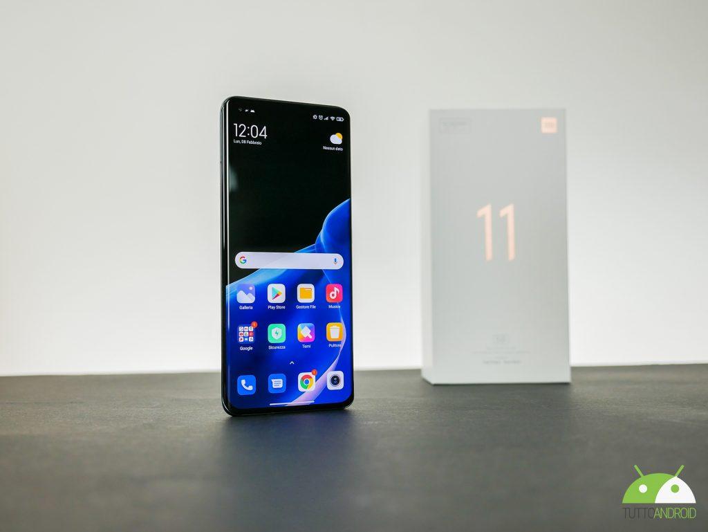 Xiaomi mi11 5g display