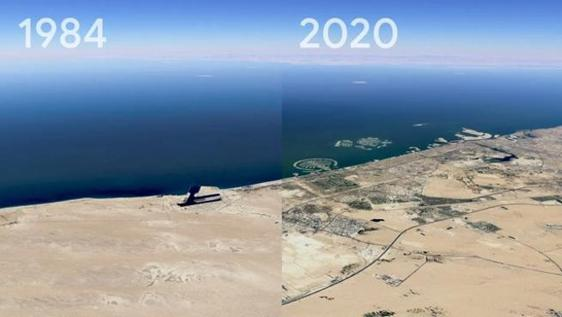 Here's how the earth has changed in 40 years: Impressive video with the new Google Earth timelapse feature