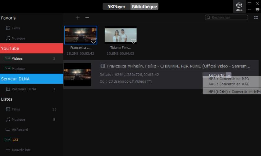 MP3 converter, YouTube converter