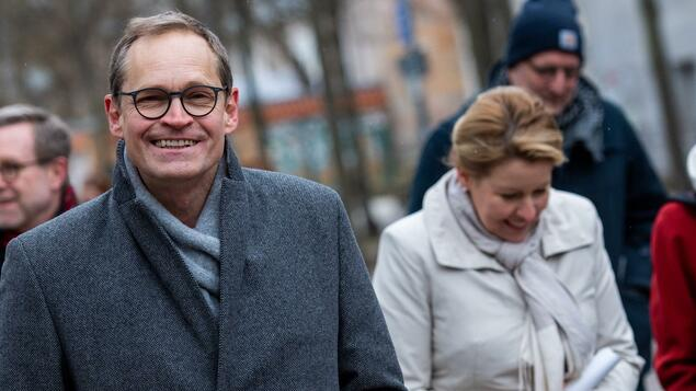 Kevin Kohnert is only in third place: Berlin SPD - Michael Mல்லller tops Berlin's bandestock list