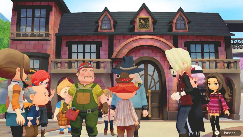 Le Boss de Extension de Story of Seasons: Olive Town's forerunners arrive Nintendo Switch