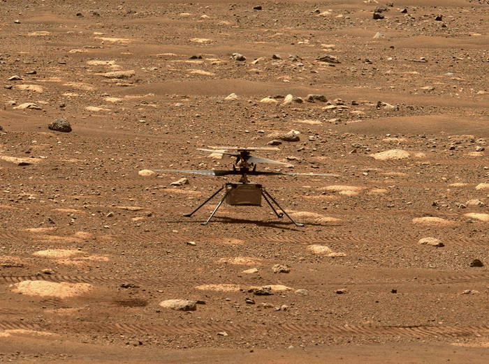 Mars, Today Intelligent Drone-Helicopter Plane Live at 12.15 - Space and Astronomy