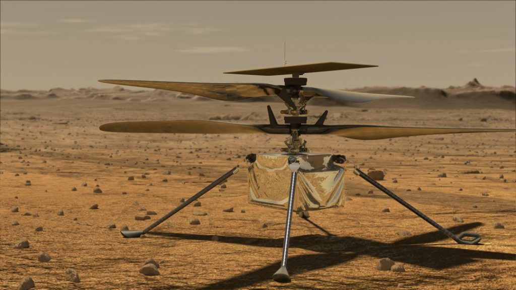 """Mars flight by helicopter """"Ingenuity"""": New launch attempt planned"""