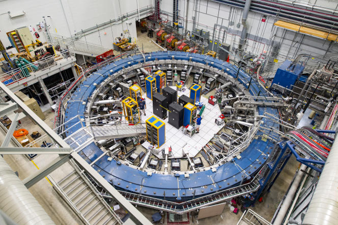 The mion ring makes it possible to study the predictions (or oscillations) of mions as they cross the G-2 magnetic field.