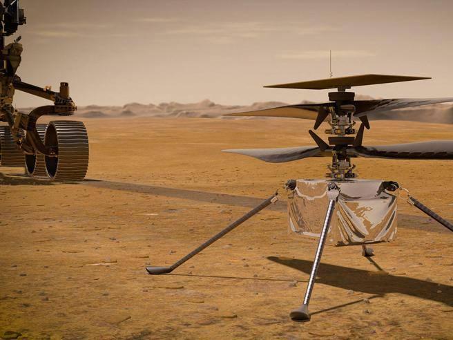 NASA postpones space helicopter flight - Corriere.it