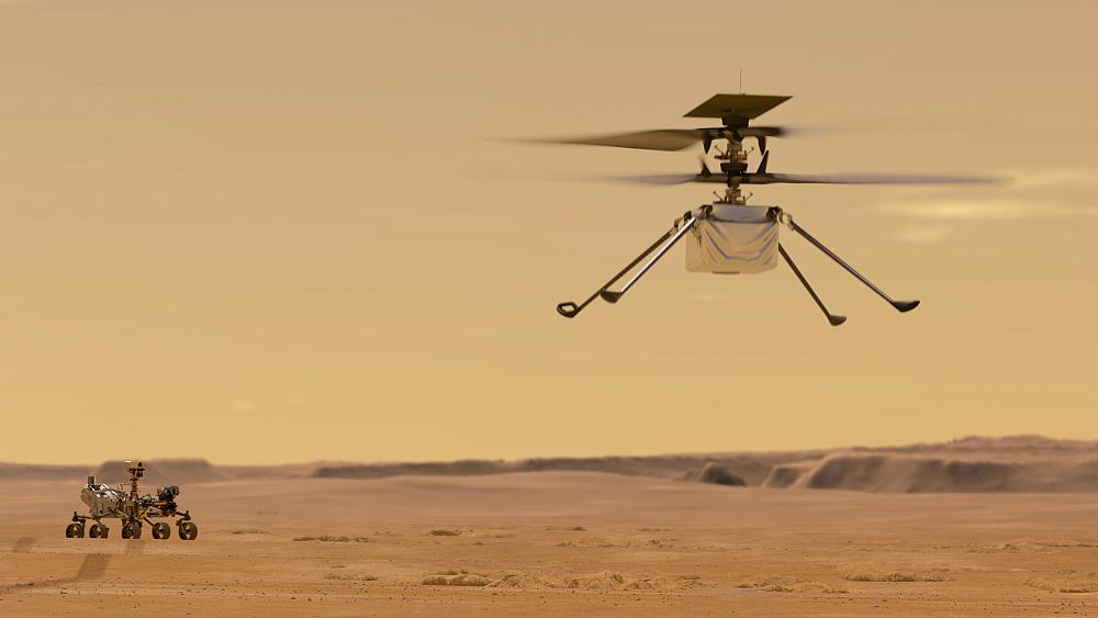 NASA wants to try a helicopter flight back to Mars