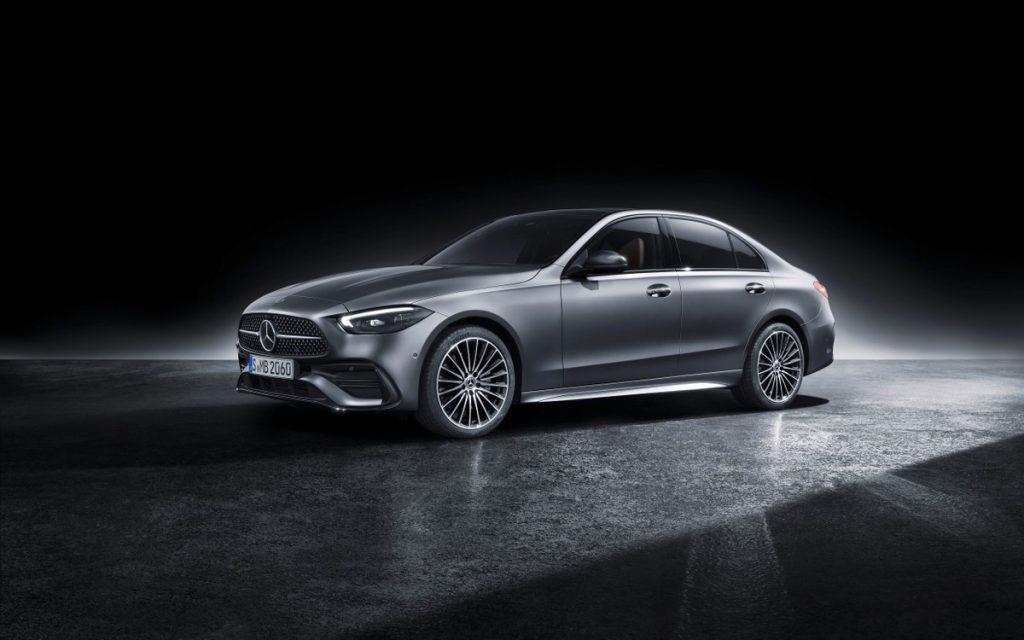New Mercedes C-Class, 100km power range plug-in