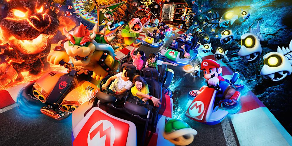 Super Nintendo World - Mario Kart