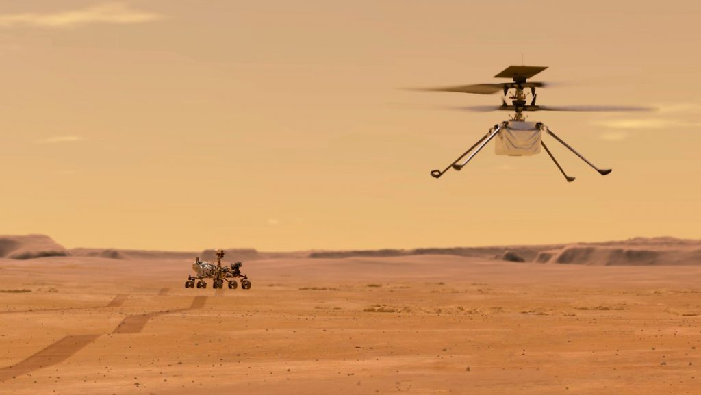 Test successfully passed: Mini helicopter ready for flight to Mars