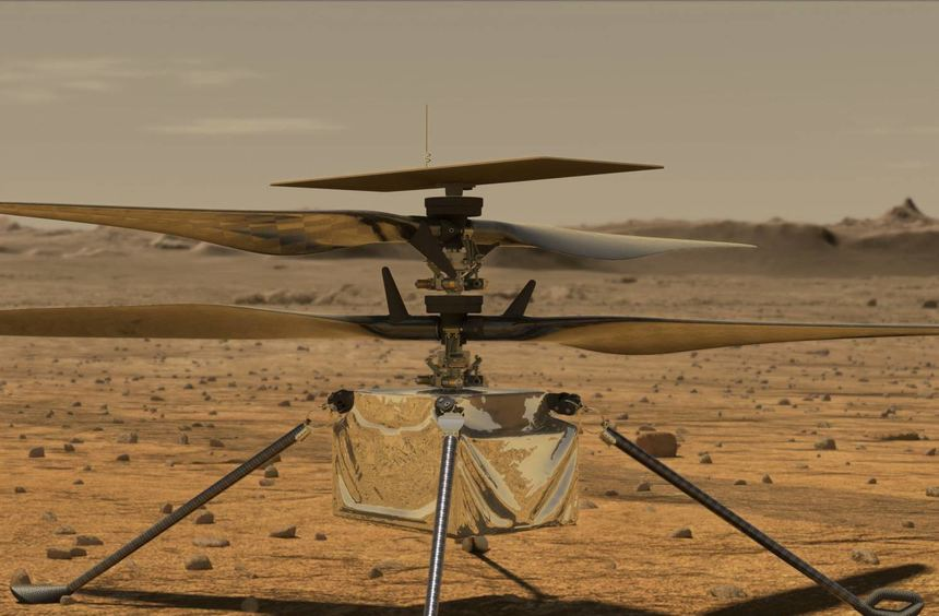 The Mars Heli should finally leave - from all over the world