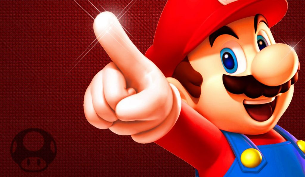 What was the first Nintendo game with Super Mario?