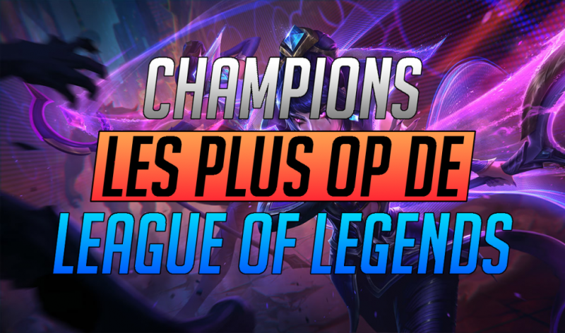 Who is the highest OP champion in the history of League of Legends?