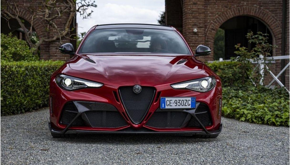 Alpha Romeo Giulia GTA, released to the press