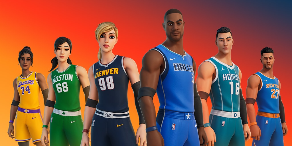 Fortnight x NBA: The Crossover - The NBA is now playing at Fortnight