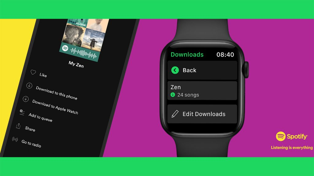 Apple Watch: You can now download Spotify playlists, albums and podcasts to your watch. Here's how to do it