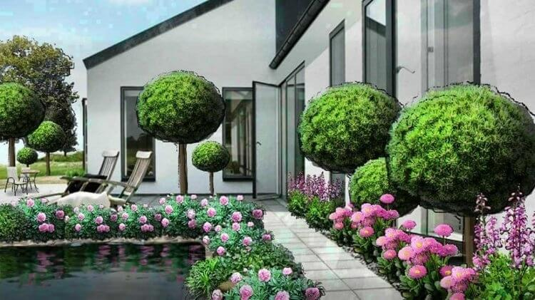 Free landscaping application