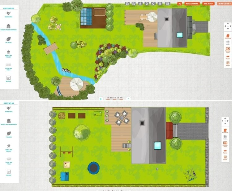 Cardana is a free landscaping software