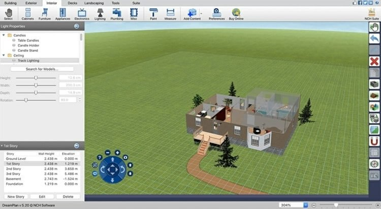 Free Landscaping Software Dream Plan Home Design