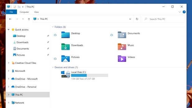 Microsoft offers new icons for Windows 10.