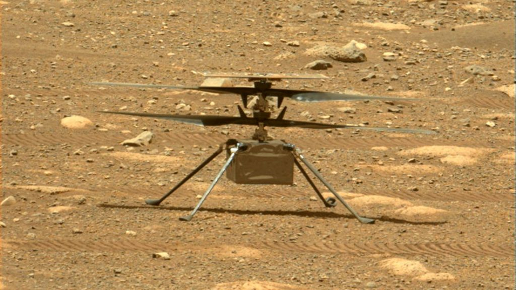 Why the loss of a photo affected the 6th flight of the helicopter to Mars