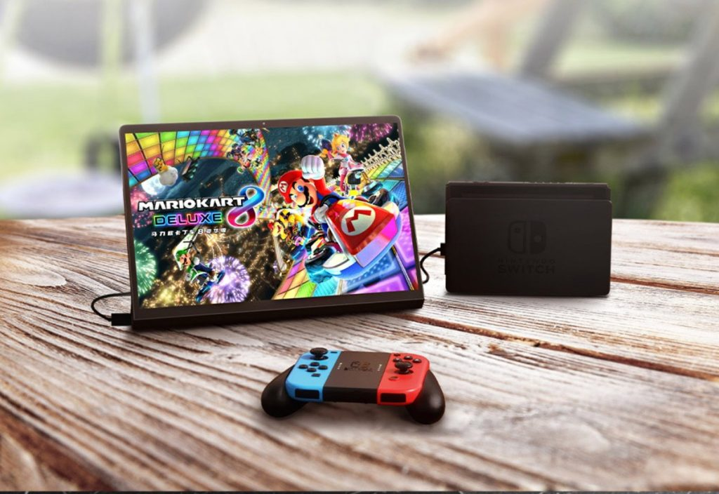 Lenovo markets Android tablets as display for Nintendo Switch