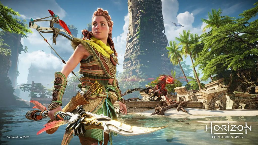 Aloy returns to show himself in a new and exciting sports video