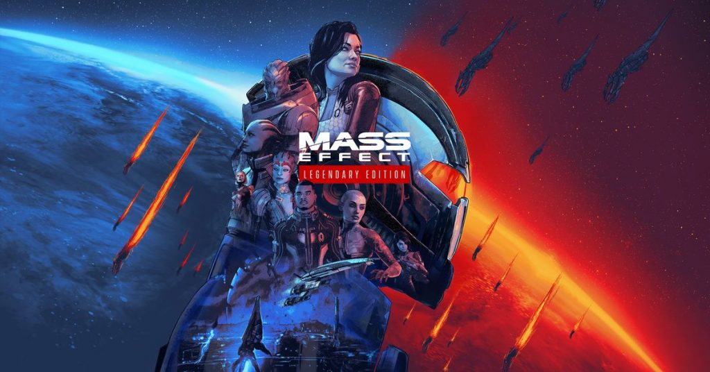 Create your own Mass Effect Legendary Edition card and download additional content