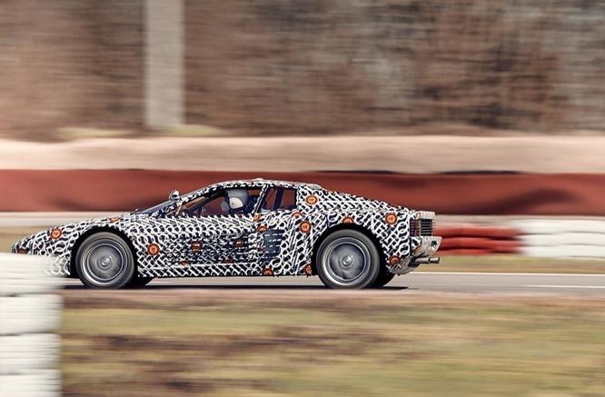 Ferrari Testarossa, Officine Fioravanti rievocano il mito